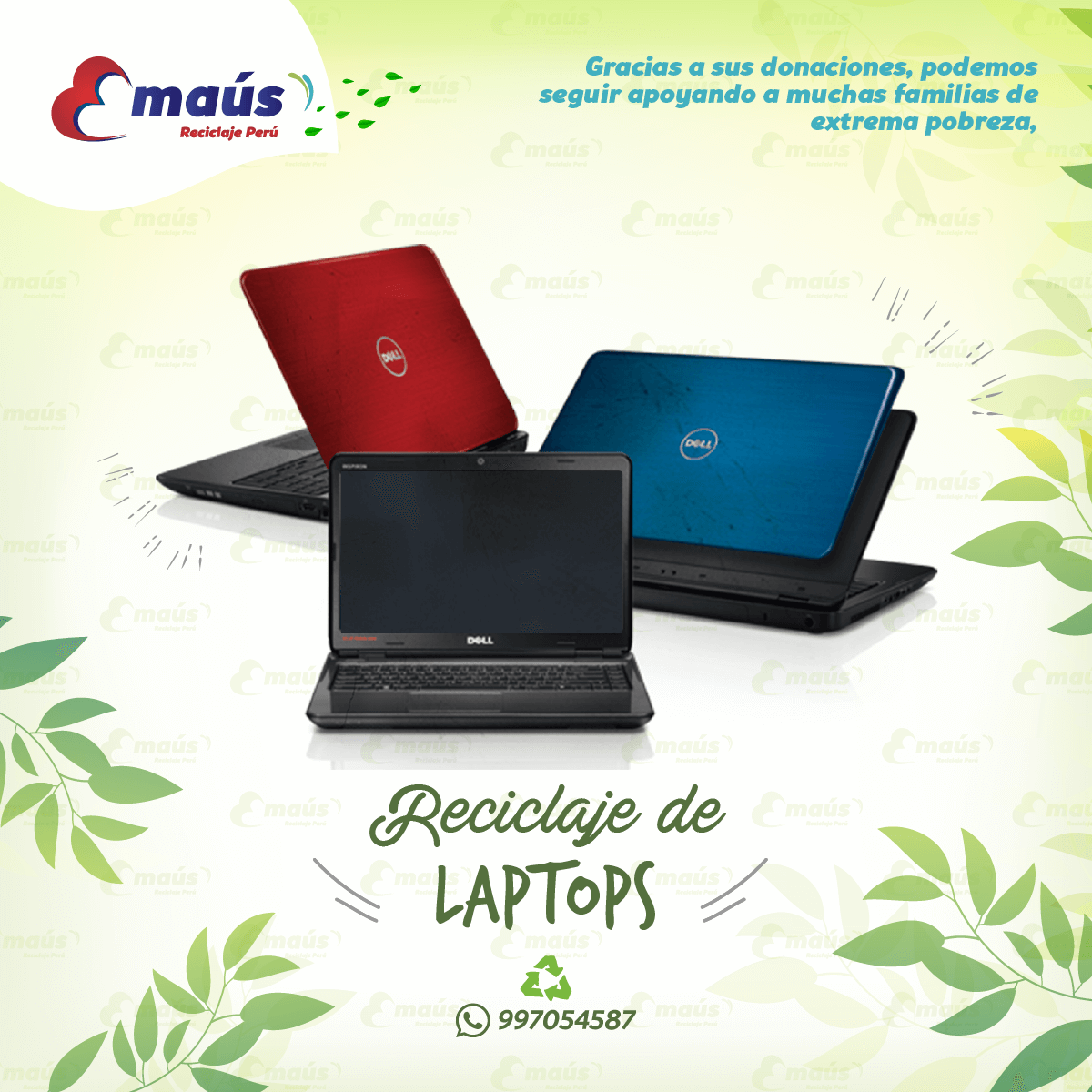 Recicla laptops